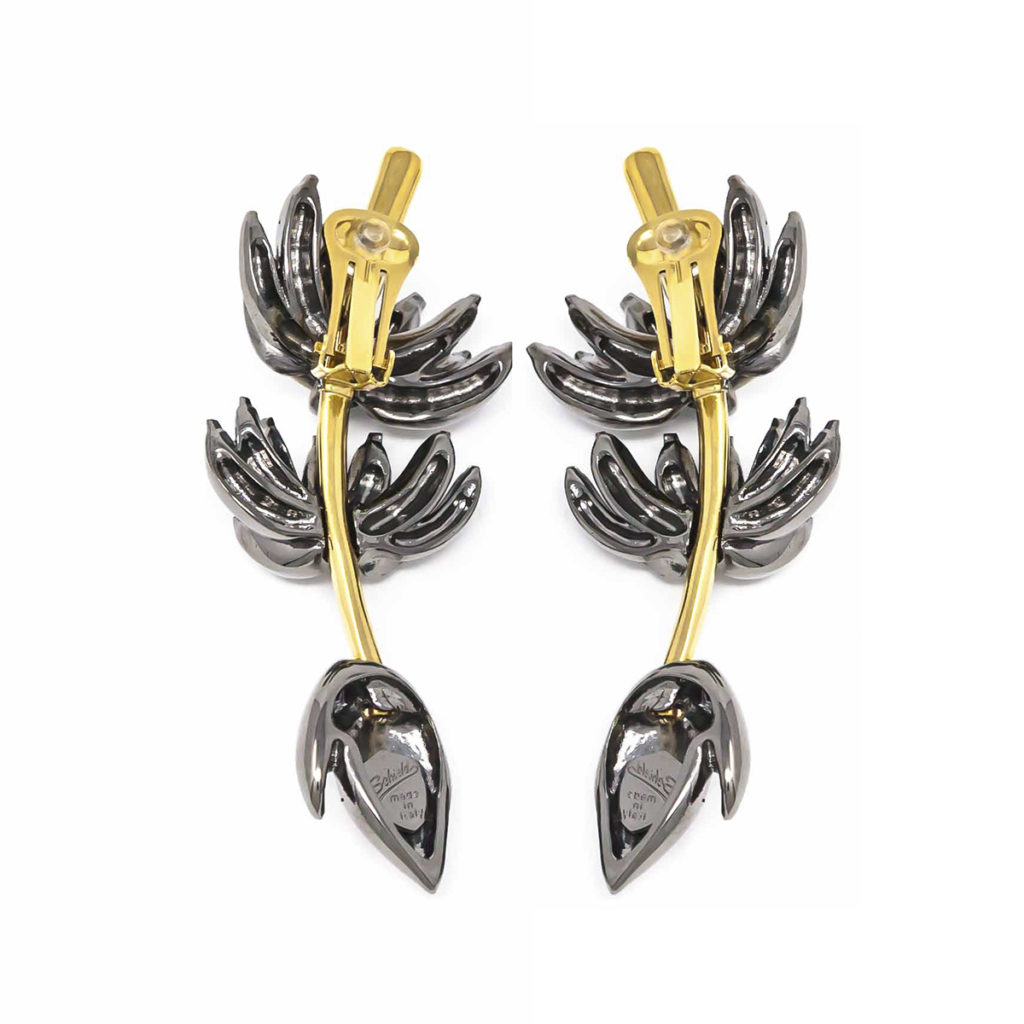 earing Banana-Gun-Metal-SCH-466-1-back