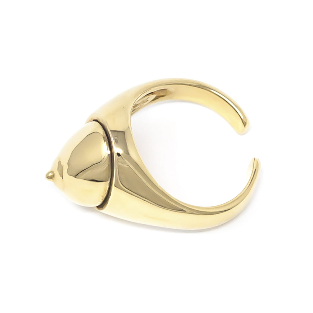 Body Lovers Ring Gold - SCH 436-2