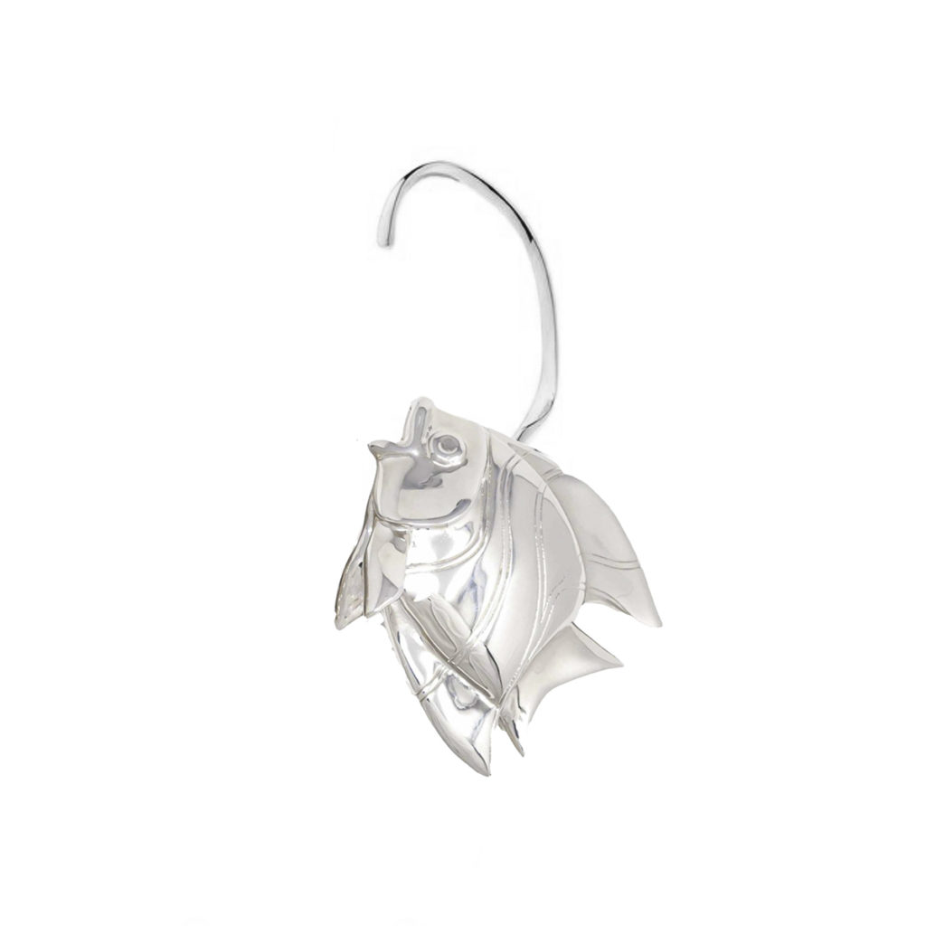 Earring Fish Love Silver SCH 467-1-left